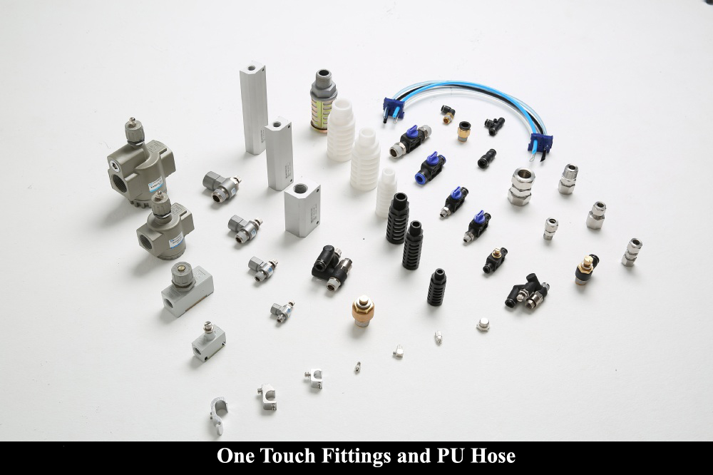 One Touch Fittings and PU Hose