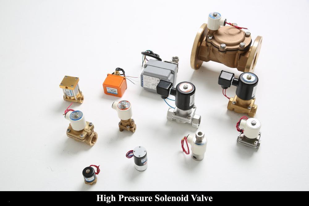 High Pressure Solenoid Valve